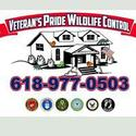 Veteran's Pride Wildlife Control Logo