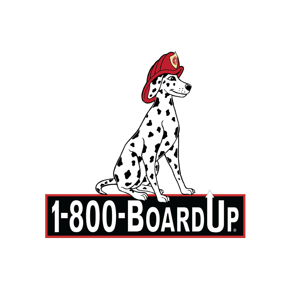 1-800-BOARDUP of Kern County Logo