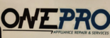 One Pro Appliance Repairs Logo