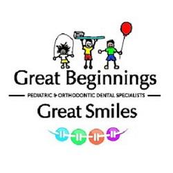 Great Beginnings Pediatric & Orthodontic Dental Specialists Logo