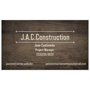J.A.C. Construction Logo