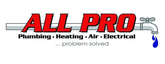 All Pro Plumbing, Heating, Air & Electrical (HVAC) Logo