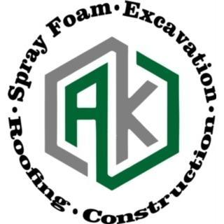 AK Roofing & Construction Logo