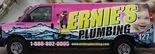 Ernie's Plumbing Service Logo