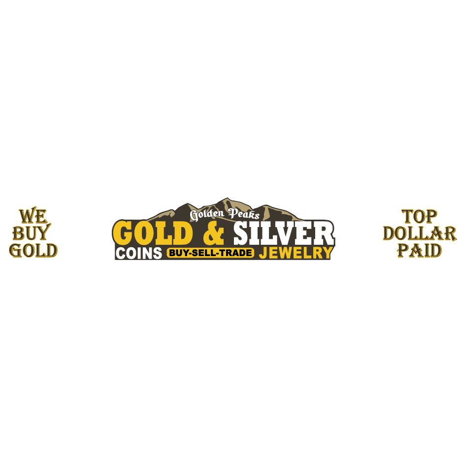 Golden Peaks Gold and Silver Logo