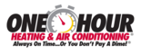 One Hour Heating & Air Conditioning - Cincinnati Logo