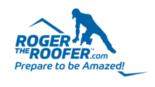 Roger The Roofer, LLC Logo