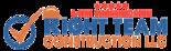 Right Team Construction Logo