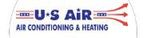 U.S. Air Conditioning and Heating Logo