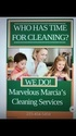 Marvelous Marcias Professional Cleaning Services Logo