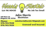 John Harris Electric Logo