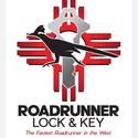Roadrunner Lock & Key Logo