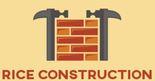 Rice construction Logo