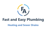 Fast and Easy Sewer Drain Logo