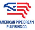 American Pipe Dream Plumbing Co Logo