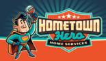 Hometown Hero Home Services Logo