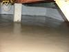 New concrete floor in crawlspace