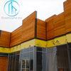 One of the many projects we have at Runway Playa Vista. Still in progress, but that western red cedar